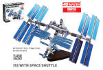 4D Vision International Space Station 66 Pieces - 1/450 Scale
